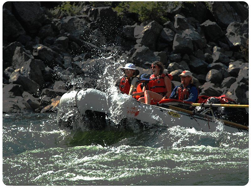 Family Rafting with Hells Canyon Raft