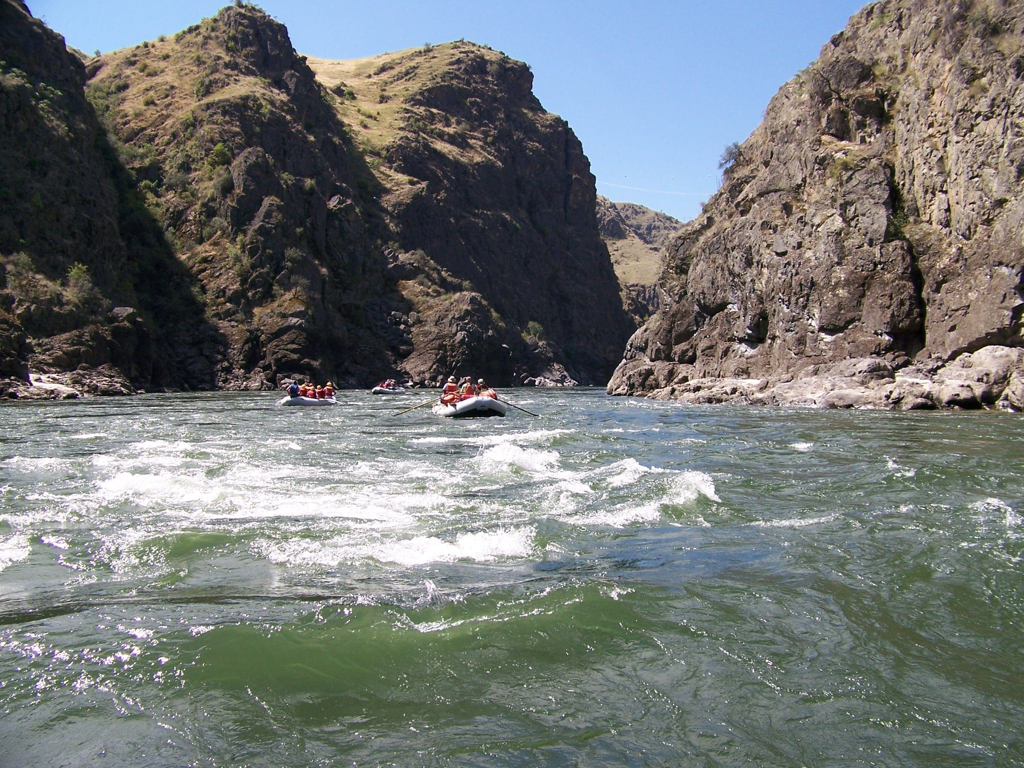 River Trips through Hells Canyon, When is the best time?