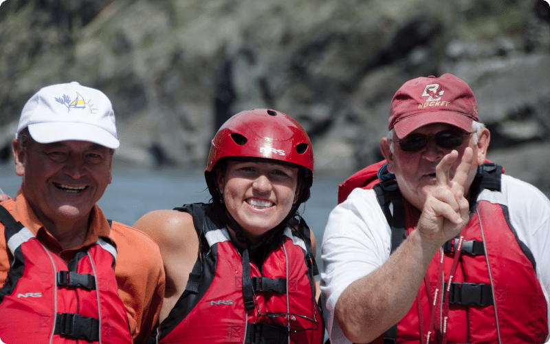 Giving Thanks From Hells Canyon Raft