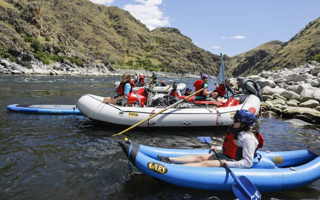 Hells Canyon Raft's fleet, you choose.